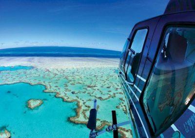 Australie Barriere de corail helico