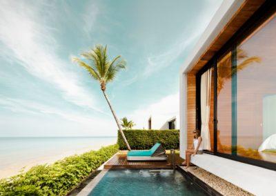 Thailande Casa de Flora playa mujer