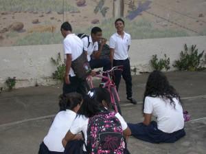 Lycéens à Granada