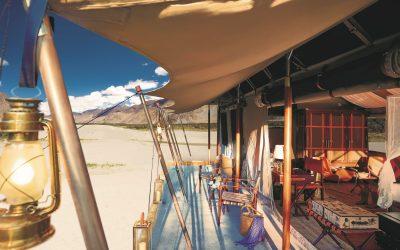 Inde en Camping de Luxe