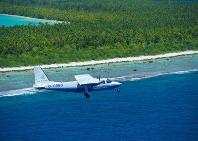 Polynesie Brando avion