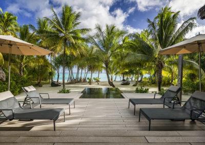 Polynesie Brando piscine