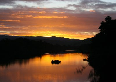 australie-cape-tribulation-daintree-wilderness-lodge-daintree-river-sunset