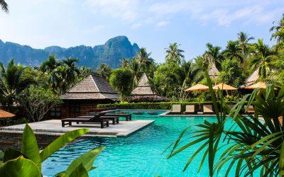 Thaïlande, Krabi en Hôtel de Charme