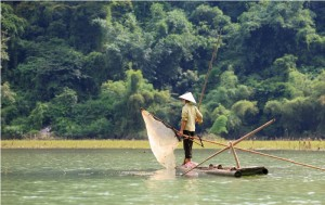 Ba Be National Park is a reserve in Bac Kan Province, Northeast Vietnam, set up to protect a freshwater lake along with surrounding limestone and lowland evergreen forests. It is located about 260 kilometers north of Hanoi.