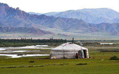 Mongolie en Yourtes