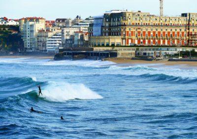 La Grand Plage de Biarritz